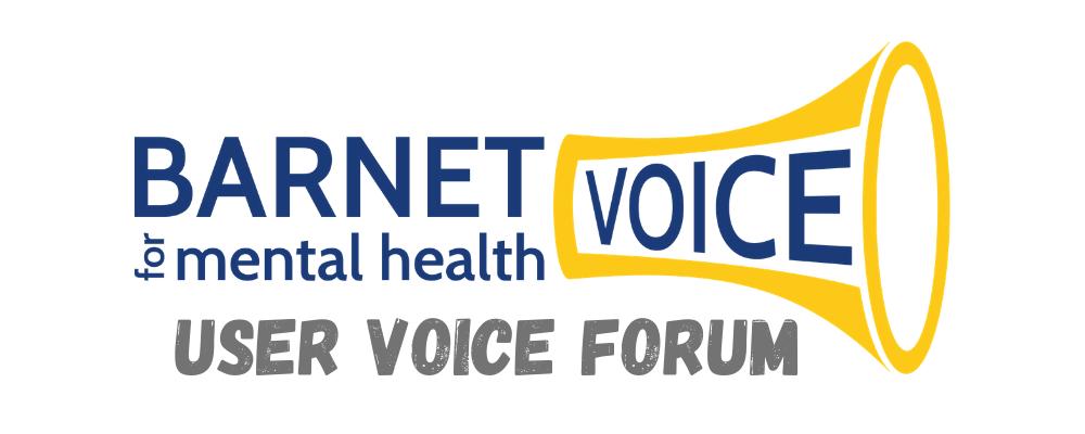 'Barnet Voice for Mental Health User Voice Forum' logo