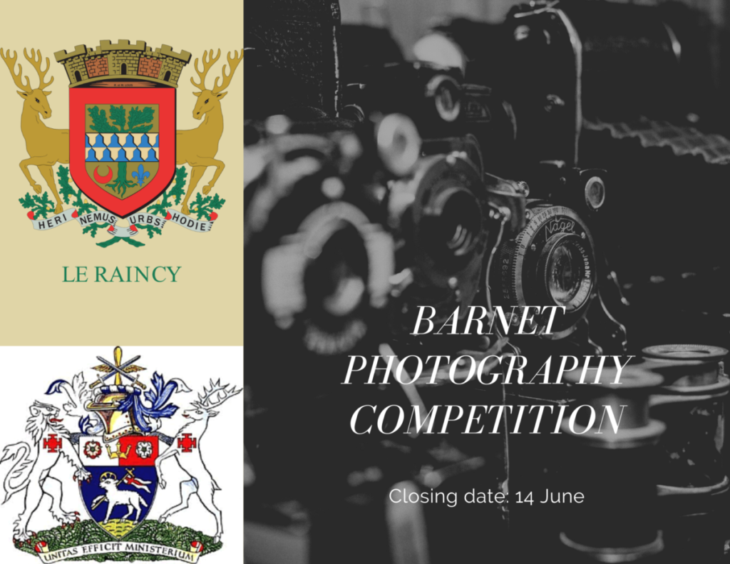 Barnet Photography Competition Closing date 14 June