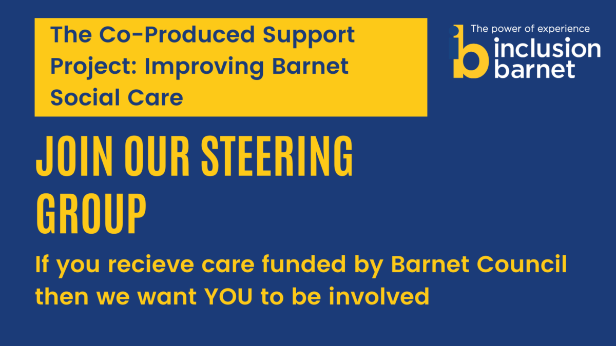 Invitation to The-Co-Produced-Support-Project-–-Invitation-to-be-Involved-in-our-Steering-Group