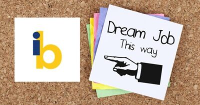 poster: Dream job this way.